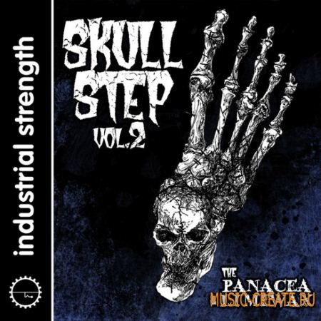 Industrial Strength Records - The Panacea and Limewax Skullstep Vol.2 (WAV REX2 AiFF) - сэмплы DnB, Industrial
