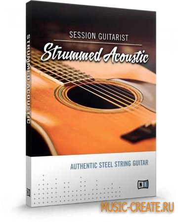 Native Instruments - SESSION GUITARIST STRUMMED ACOUSTIC (KONTAKT) - библиотека звуков аккустической гитары