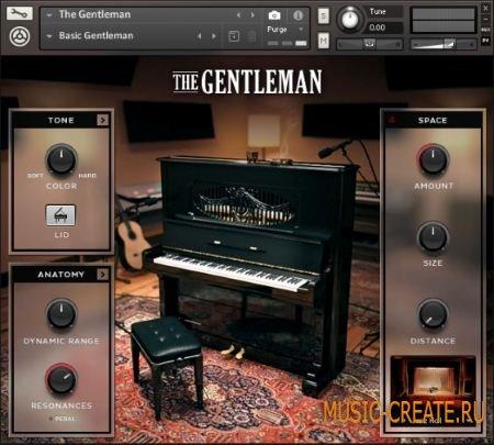 Native Instruments - The Gentleman v1.2 (KONTAKT) - библиотека звуков классического пианино