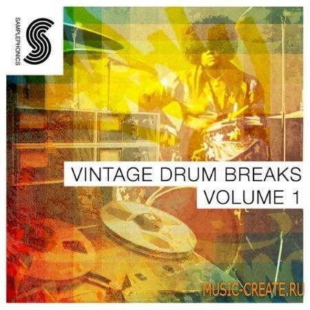 Samplephonics - Vintage Drum Breaks Vol.1 (ACiD WAV) - сэмплы аналоговых ударных