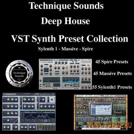 Technique Sounds - Deep House VST Synth Preset Collection (MiDi FXB KDS Spire)