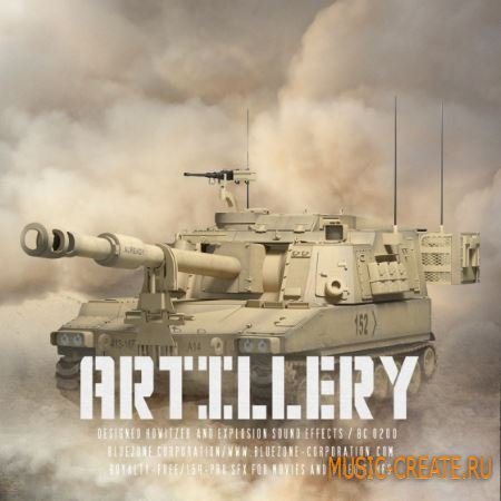 Bluezone Corporation - Artillery - Designed Howitzer and Explosion Sound Effects (WAV AiFF) - звуковые эффекты артиллерии