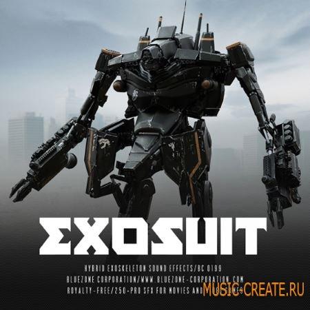 Bluezone Corporation - Exosuit Hybrid Exoskeleton Sound Effects (WAV AiFF) - звуковые эффекты