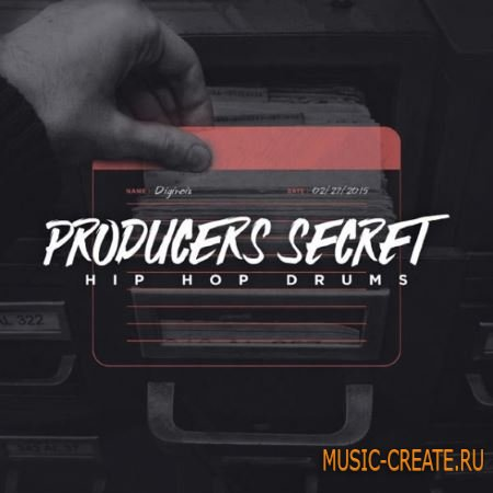 Diginoiz - Producers Secret: Hip Hop Drums (ACiD WAV AiFF) - сэмплы ударных