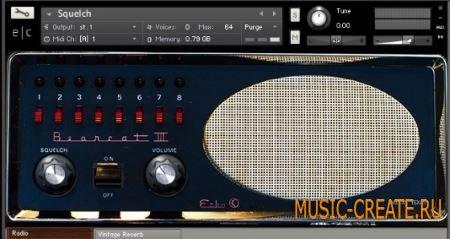Echo Collective - Squelch (KONTAKT) - библиотека звуков радио инструментов, звуковых эффектов