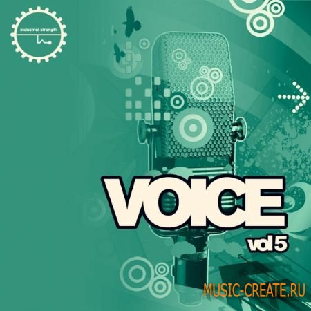 Industrial Strength Records - Voice Vol.5 (WAV MiDi) - вокальные сэмплы