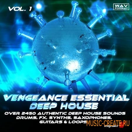 Mutekki Media - Vengeance Essential Deep House (WAV) - сэмплы Deep House