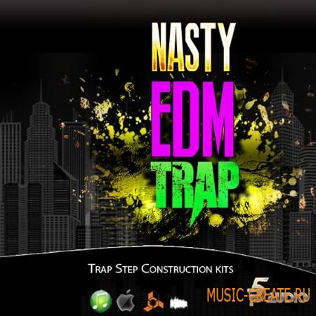 P5 Audio - Nasty EDM Trap (WAV AiFF NI Massive) - сэмплы Trap