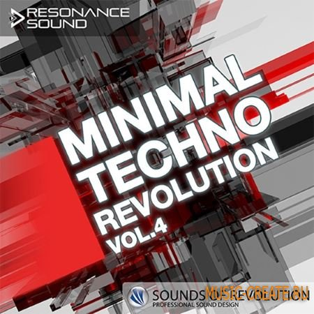 Resonance Sound - SOR Minimal Techno Revolution Vol.4 (MULTiFORMAT) - сэмплы Minimal Techno