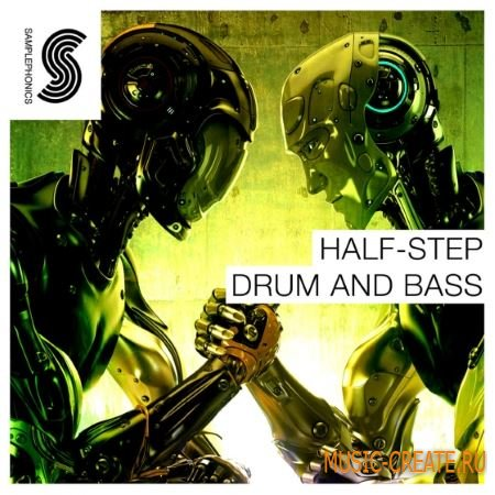 Samplephonics - Half Step Drum N Bass (MULTiFORMAT) - сэмплы Drum & Bass, Hip Hop, Techno