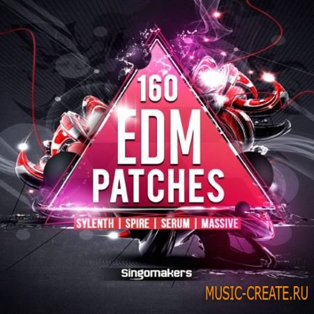 Singomakers - EDM Patches For SYLENTH1 Ni MASSiVE SPiRE SERUM (FXB NMSV SBF FXP WAV)