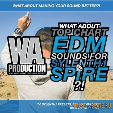 WAProduction - Top Chart EDM Sounds For Sylenth1 and Spire (Sylenth1/Spire presets)