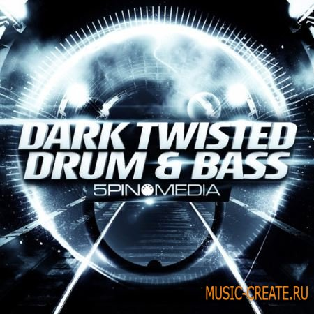 5Pin Media - Dark Twisted Drum and Bass Ft Histibe (MULTiFORMAT) - сэмплы Drum and Bass