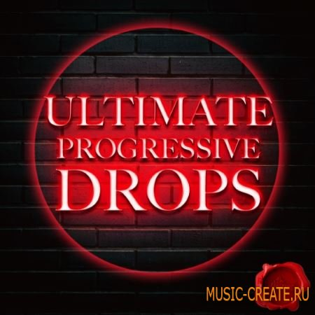 Fox Samples - Ultimate Progressive Drops (WAV MiDi) - сэмплы Progressive EDM