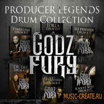 Godz Fury - Drum Kits Pack (WAV) - сэмплы ударных