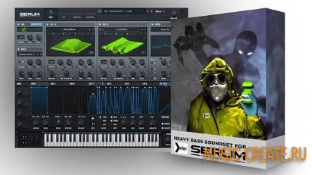 Leiton Dubstep For Xfer Serum (Xfer Serum presets)