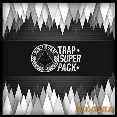 Premier Sound Bank - Run The Trap Superpack (WAV) - сэмплы Trap