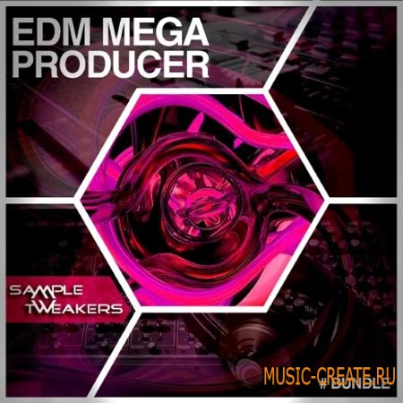 Sample Tweakers - EDM Mega Producer Bundle (WAV MiDi Spire Serum Presets) - сэмплы EDM
