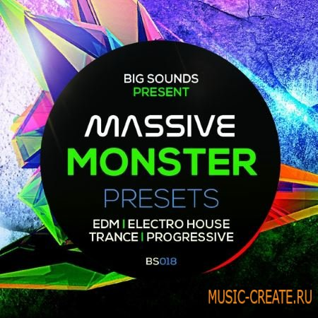 Big Sounds - Massive Monster Presets (Massive Presets)