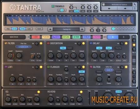 Dmitry Sches Tantra v1.13 WiN/MAC (Team R2R) - плагин ритмичный мульти-эффект