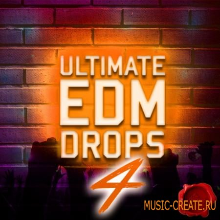 Fox Samples - Ultimate EDM Drops 4 (WAV MiDi) - сэмплы EDM