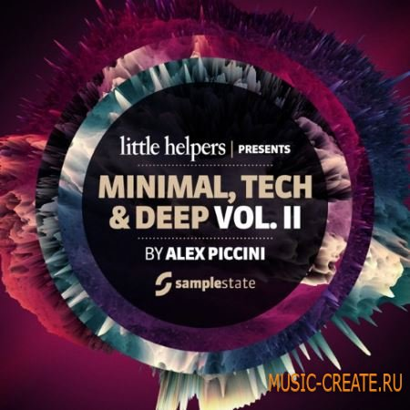 Samplestate Little Helpers - Minimal Tech and Deep Vol.2 (MULTiFORMAT) - сэмплы Minimal, Tech, Deep House