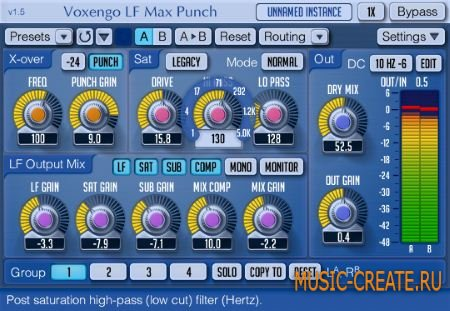 Voxengo - LF Max Punch VST v1.6 WiN/MAC (Team R2R) - эффект искажения