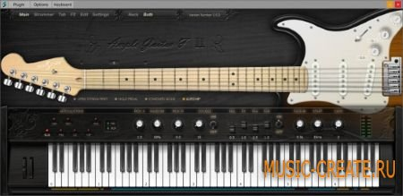 Ample Sound - AGF v1.1.0 Incl Keygen with Library WiN/OSX (TEAM R2R) - инструмент и сэмплы гитары Fender Stratocaster