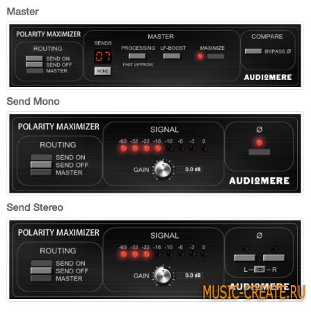Audiomere - Polarity Maximizer v1.0.2 WiN/MAC (Team R2R) - плагин максимайзер