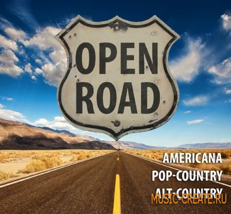 Big Fish Audio - Open Road (MULTiFORMAT / KONTAKT) - сэмплы Americana, Country