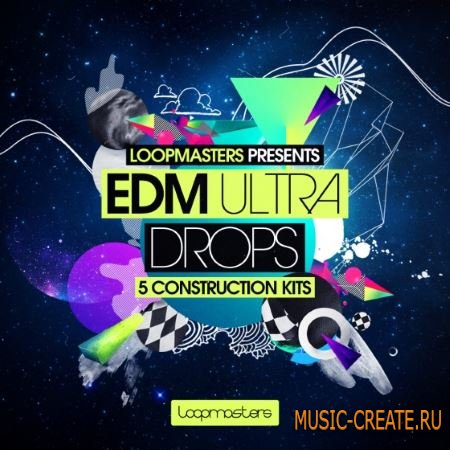 Loopmasters - EDM Ultra Drops (MULTiFORMAT) - сэмплы EDM