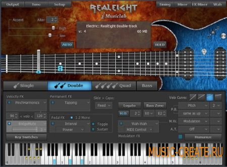 MusicLab - RealEight v1.0.0.7183 WiN/MAC (Team R2R) - виртуальная гитара