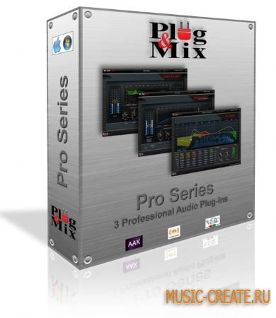 Plug And Mix - Pro Series v1.0.0 WiN/MAC (Team R2R) - сборка плагинов