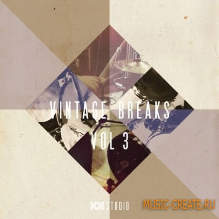 Sample Magic - Vintage Breaks Vol.3 (WAV REX AiFF) - сэмплы Breaks