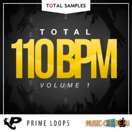 Total Samples - Total 110 BPM Volume 1 (WAV) - сэмплы Glitch Hop, Moombahcore