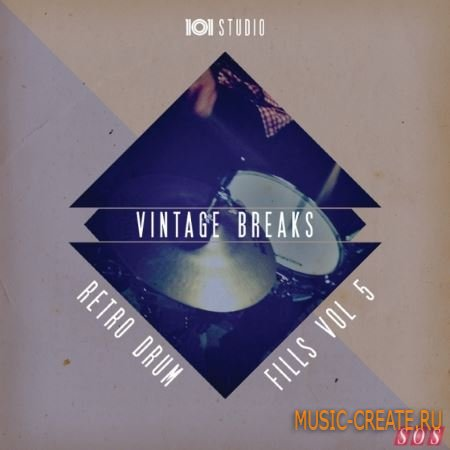 Sample Magic - Vintage Breaks Vol.5 (WAV REX AiFF) - сэмплы Breaks