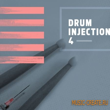 Diginoiz - Drum Injection 4 (WAV AiFF) - сэмплы ударных