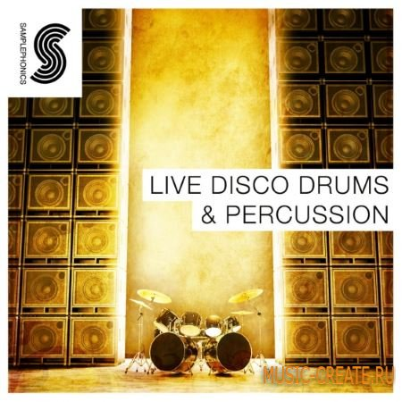 Samplephonics - Live Disco Drums and Percussion (ACiD WAV) - сэмплы ударных