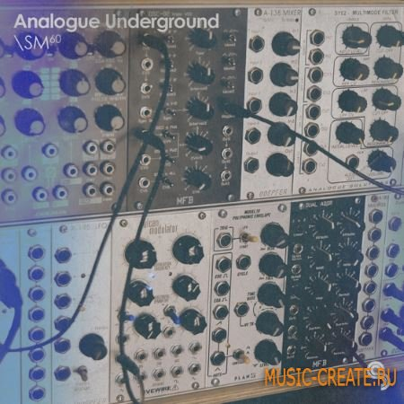 Sample Magic - Analogue Underground (MULTiFORMAT) - сэмплы синтезатора