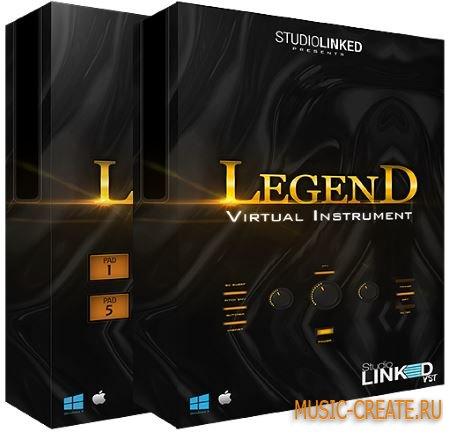 StudiolinkedVST - Legend Collection (KONTAKT) - виртуальный инструмент для Hip Hop