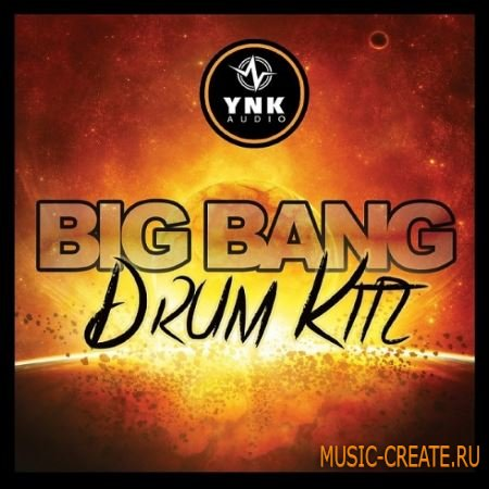 YnK Audio -Big Bang Drum Kitz (WAV) - сэмплы ударных, Trap