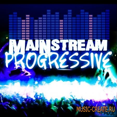 Fox Samples - Mainstream Progressive (WAV MiDi) - сэмплы Progressive House