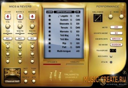 Impact Soundworks - Bravura Scoring Brass Complete (KONTAKT) - библиотека звуков медных духовых инструментов