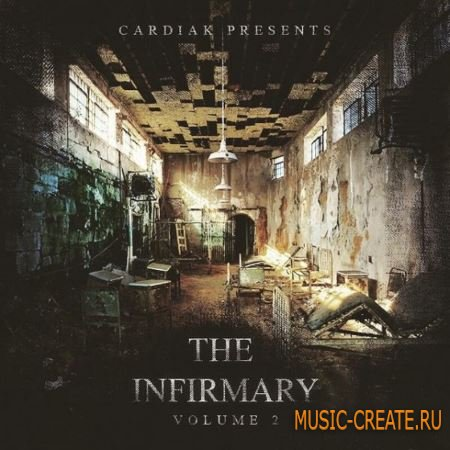 Cardiak - The Infermary Drumkit Vol.2 (WAV) - сэмплы ударных