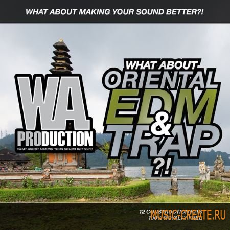WA Production - What About Oriental EDM and Trap (WAV MiDi) - сэмплы EDM, Trap