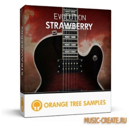 Orange Tree Samples - Evolution Strawberry Electric Guitar v2.0 (KONTAKT) - библиотека звуков электрической гитары