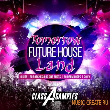 Class A Samples - Tomorrow Future House Land (WAV Ni Massive) - сэмплы Future House