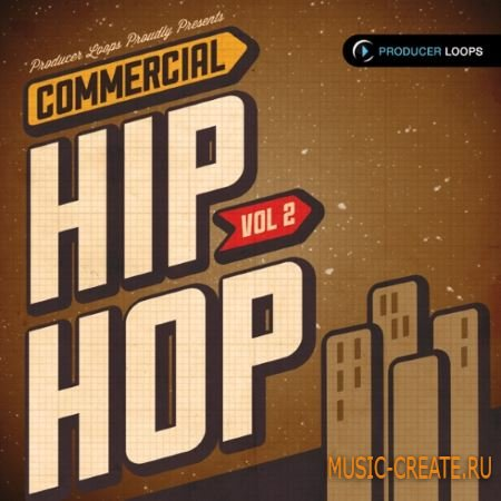 Producer Loops - Commercial Hip Hop Vol.2 (ACiD WAV REX) - сэмплы Hip Hop
