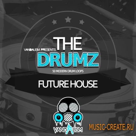 Vandalism - The Drumz: Future House (WAV) - сэмплы ударных
