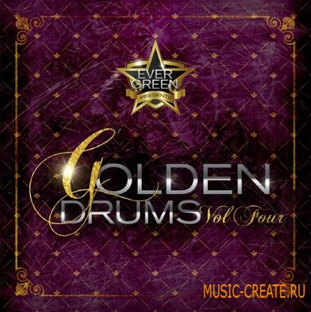 Evergreen Golden - Drums Vol.IV (WAV) - сэмплы ударных